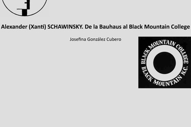Xanti Schawinsky. From Bauhaus to Mountain College